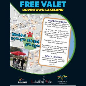 Lakeland Valet - Complimentary Parking Services